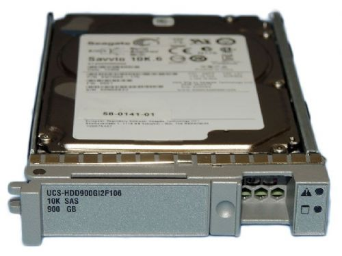 "Cisco 900GB 10K SAS 2.5"" HDD Hard disk drive UCS-HDD900GI2F106 for UCS Servers"